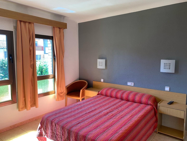 habitació doble Hostal Tarrés