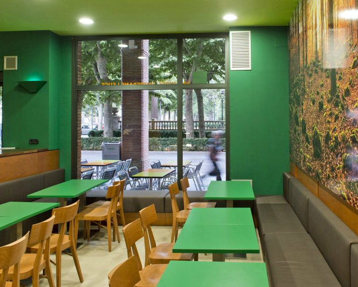 B-CREK Sandwiches, Salads & Juices Interior