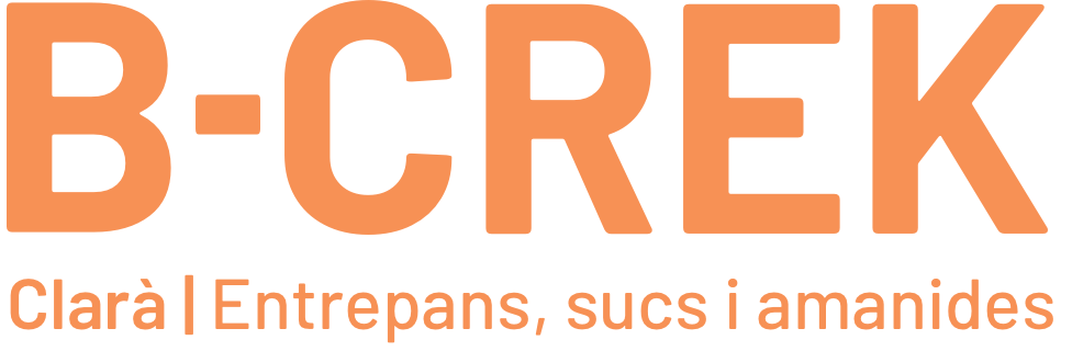 B-CREK Sandwichs, Salades et Jus Logo