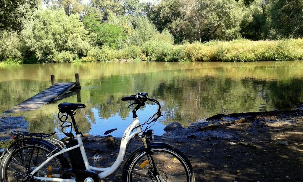 eBici.cat-Biciclick Girona en el río