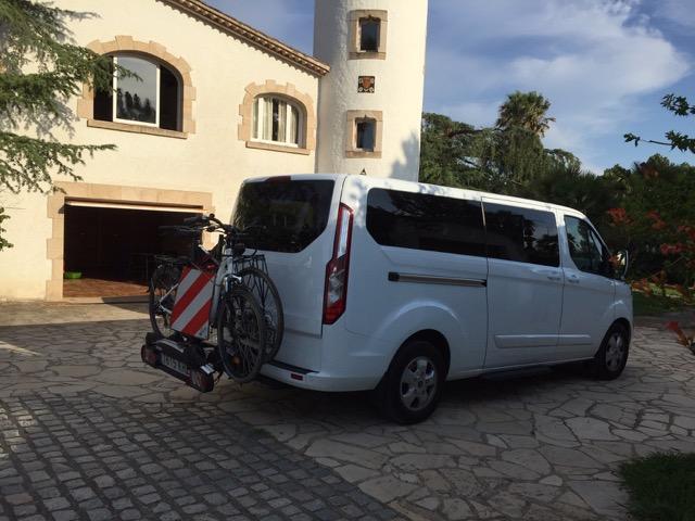 Taxi con bicicletas gironataxi.cat