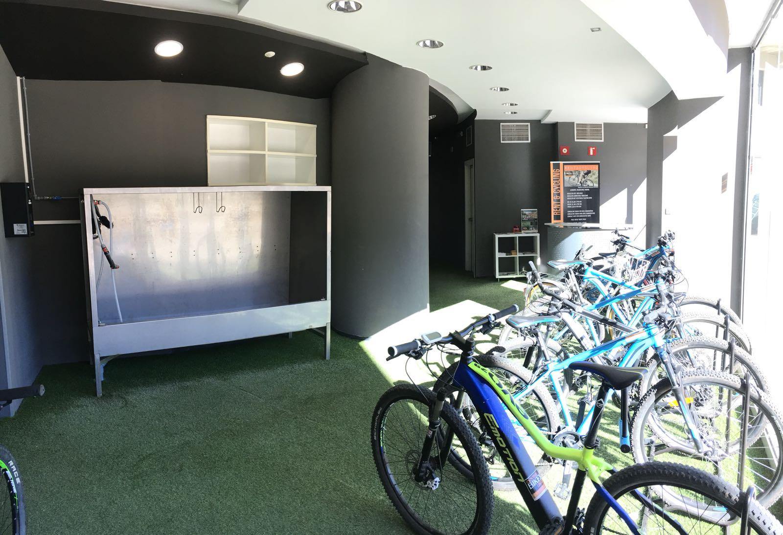 zona lloguer del centre Biker
