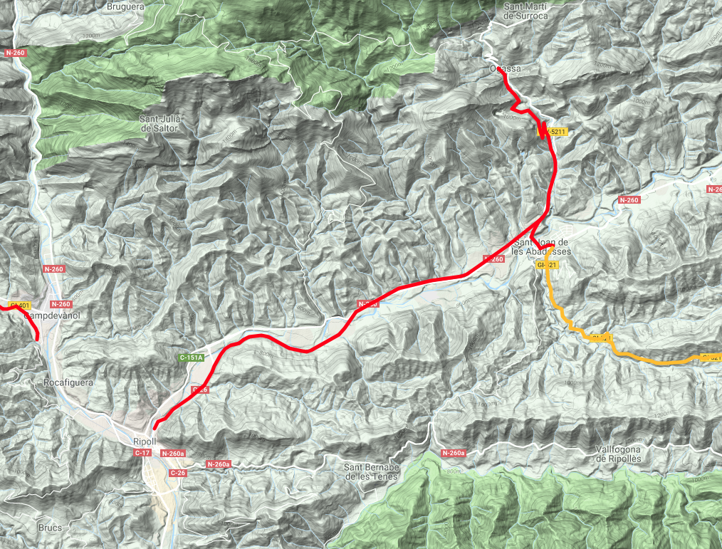 Iron and Coal Route map