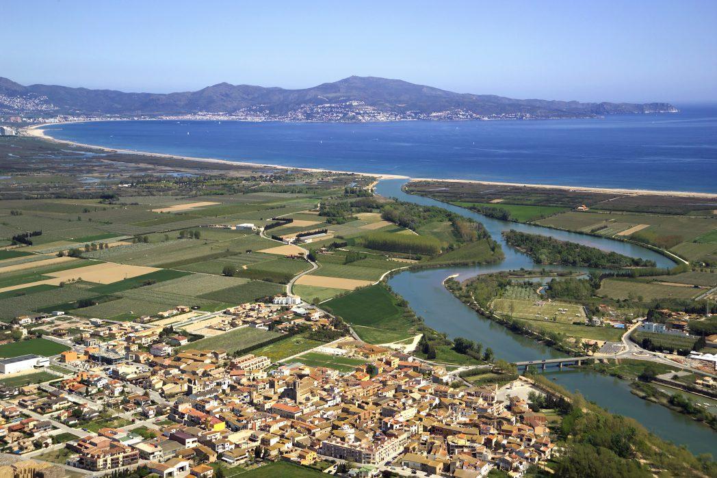 Desembocadura riu Fluvià, Etapa Alt Empordà