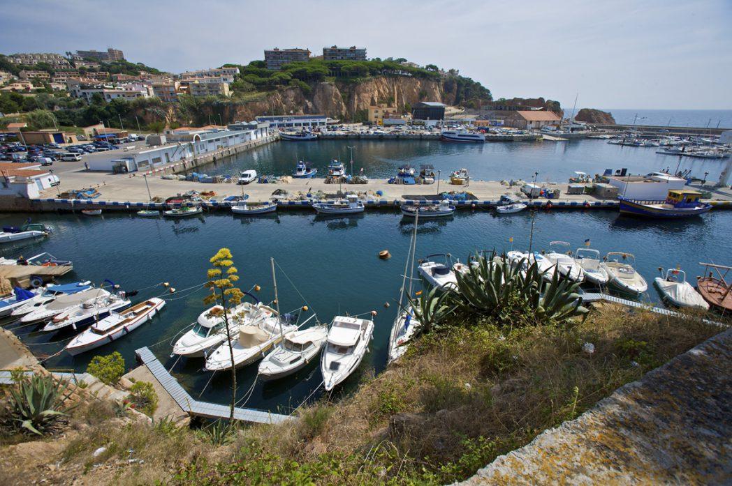 Port de Sant Feliu de Guíxols, Ruta Carrilet II