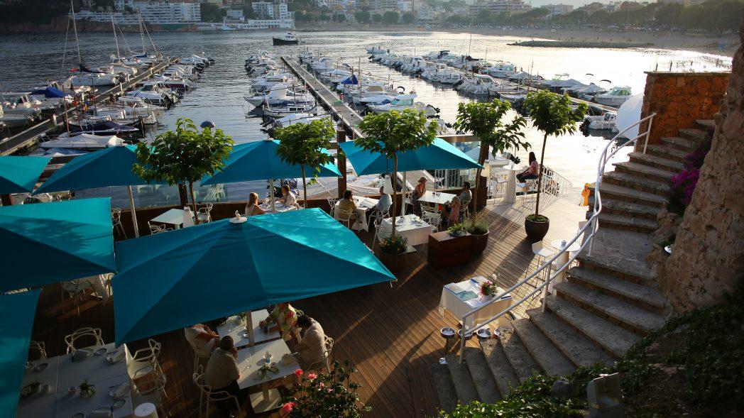 Terraza Restaurante Sa Marinada