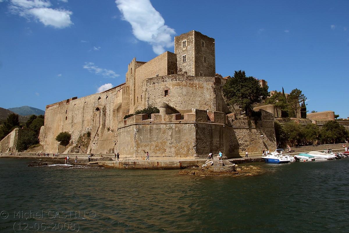 Castell de Cotlliure, Costa Vermella