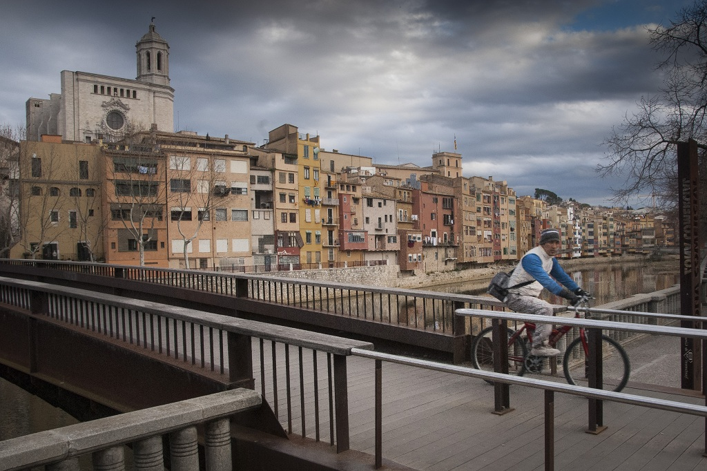 Río Onyar de Girona