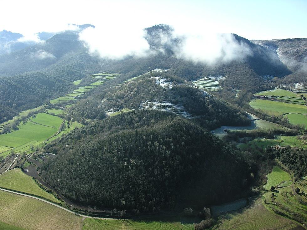 Volcanes Rocanegra y Puigsubia, Olot