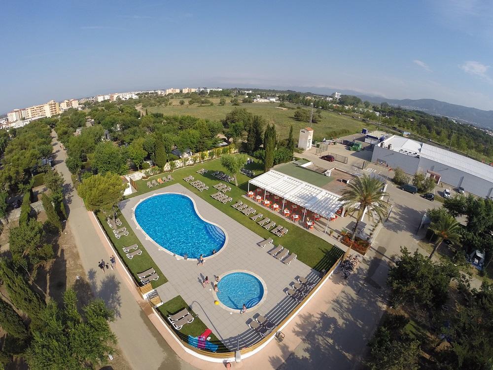 Vista aèria Càmping Rodas