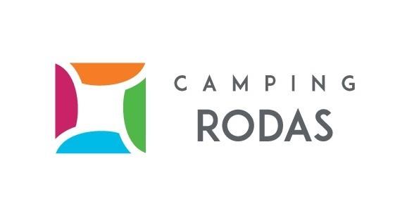 logotipo camping Rodas