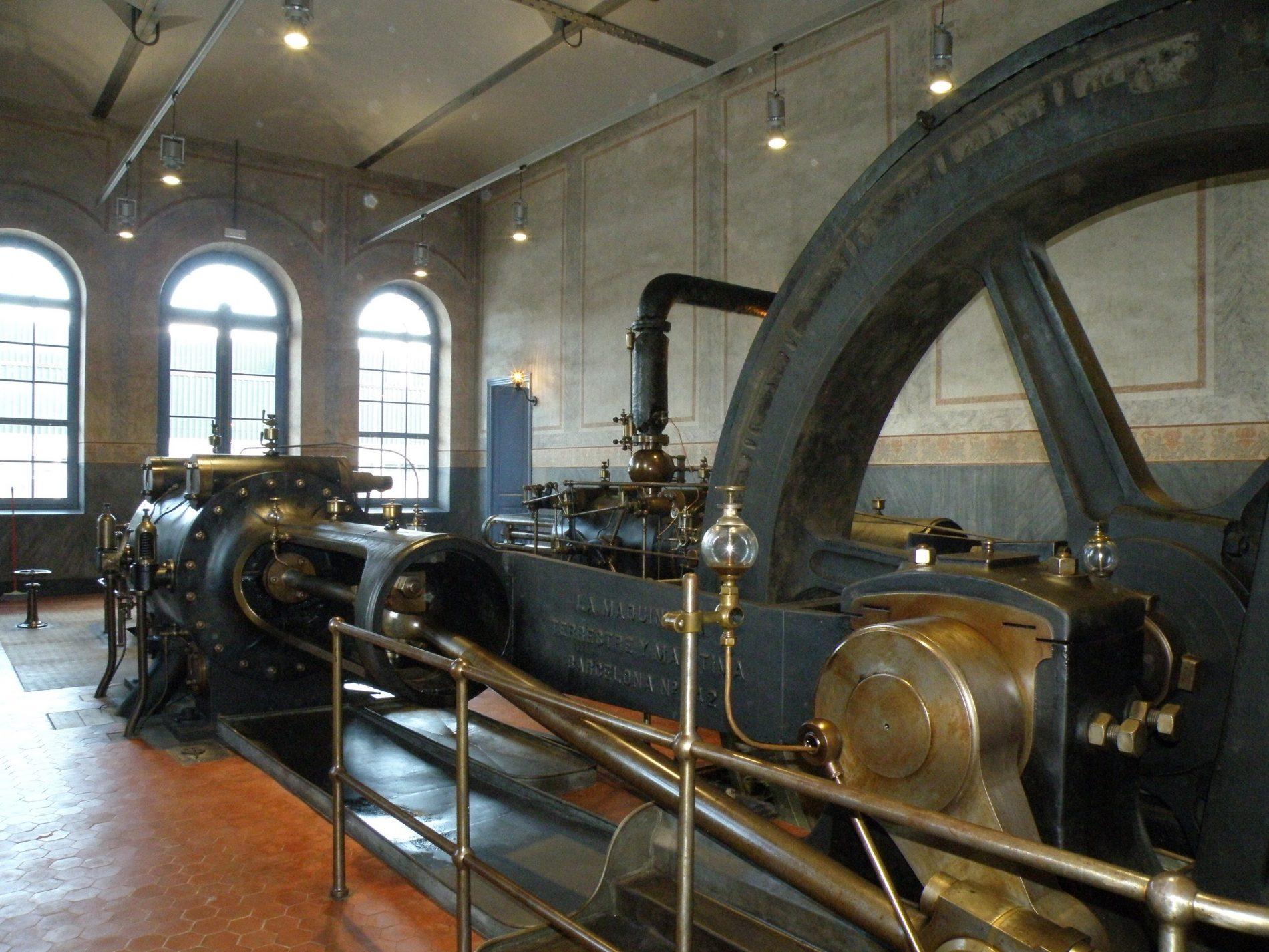 Màquina de vapor de Burés, Anglès