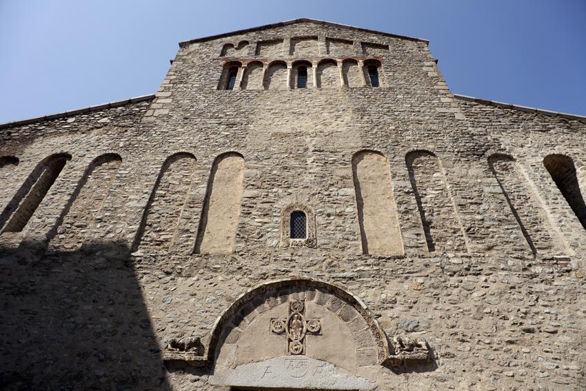 Façana de Santa Maria d'Arles