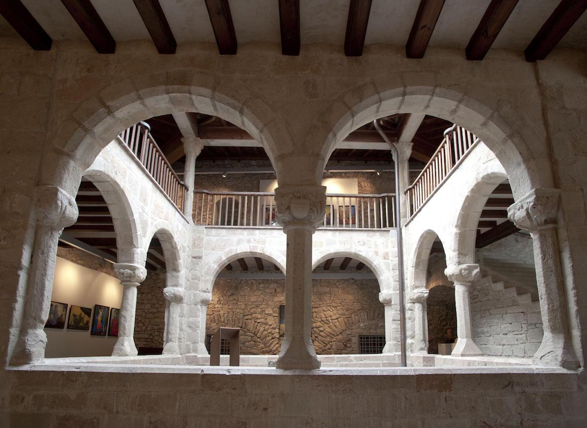 Cloister of the Palace of the Abbey