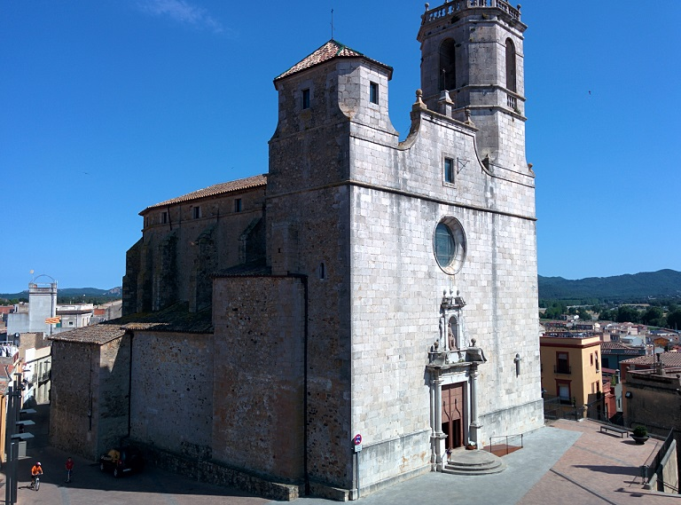 Parish church of Sant Feliu, Llagostera