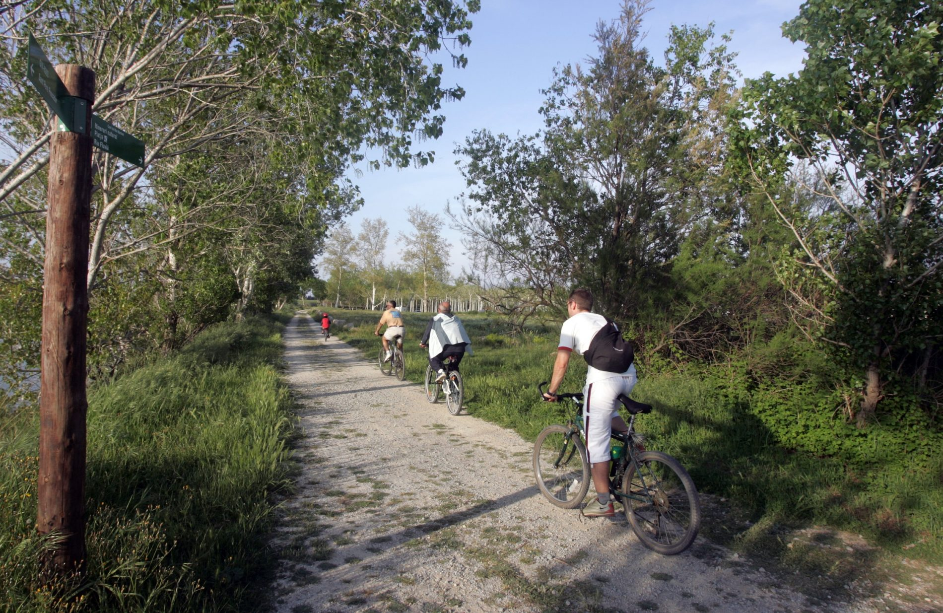 Itinerario ciclable Sant Pere Pescador