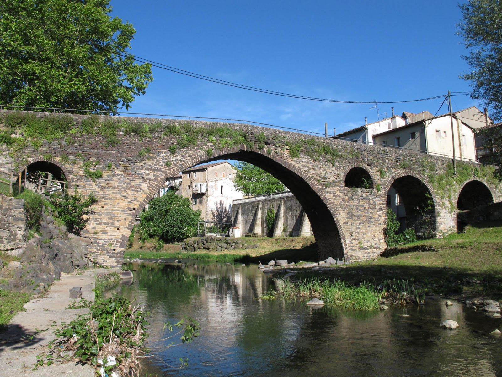 Medieval bridge of Sant Joan de les Fonts