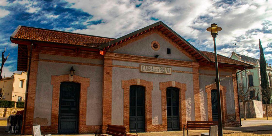 Train station of Cassà de la Selva
