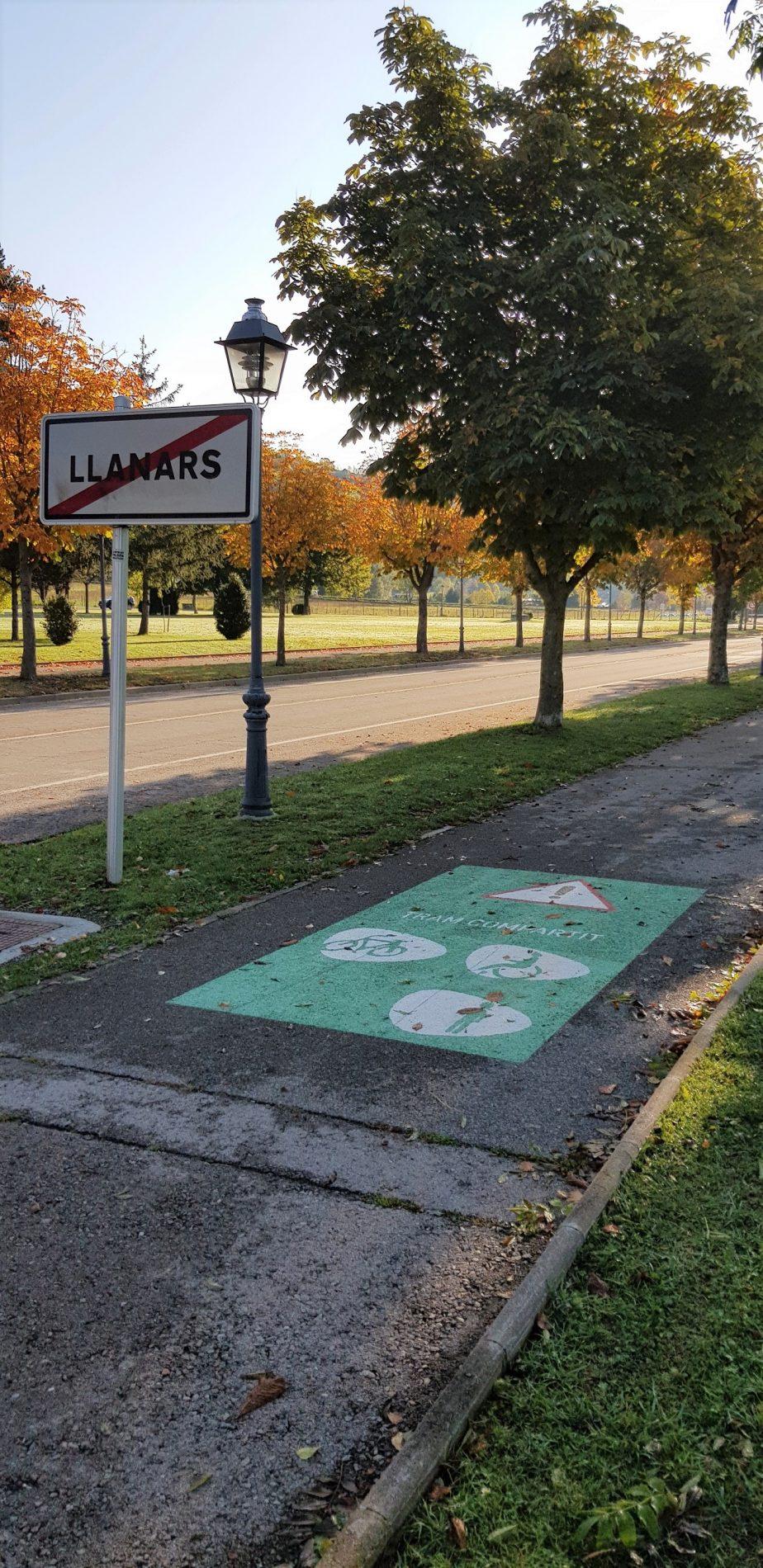 ruta Llanars