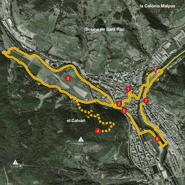 Ripoll Secrets Map