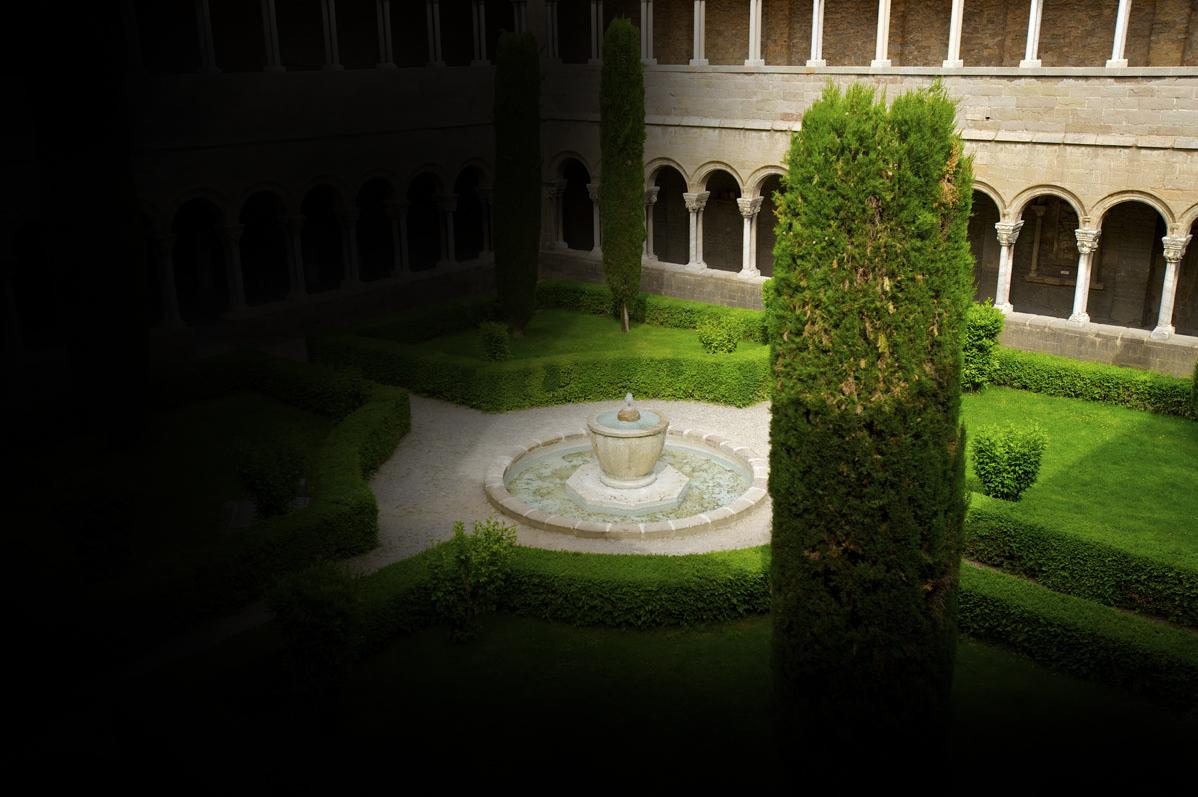 Claustre monestir de Ripoll
