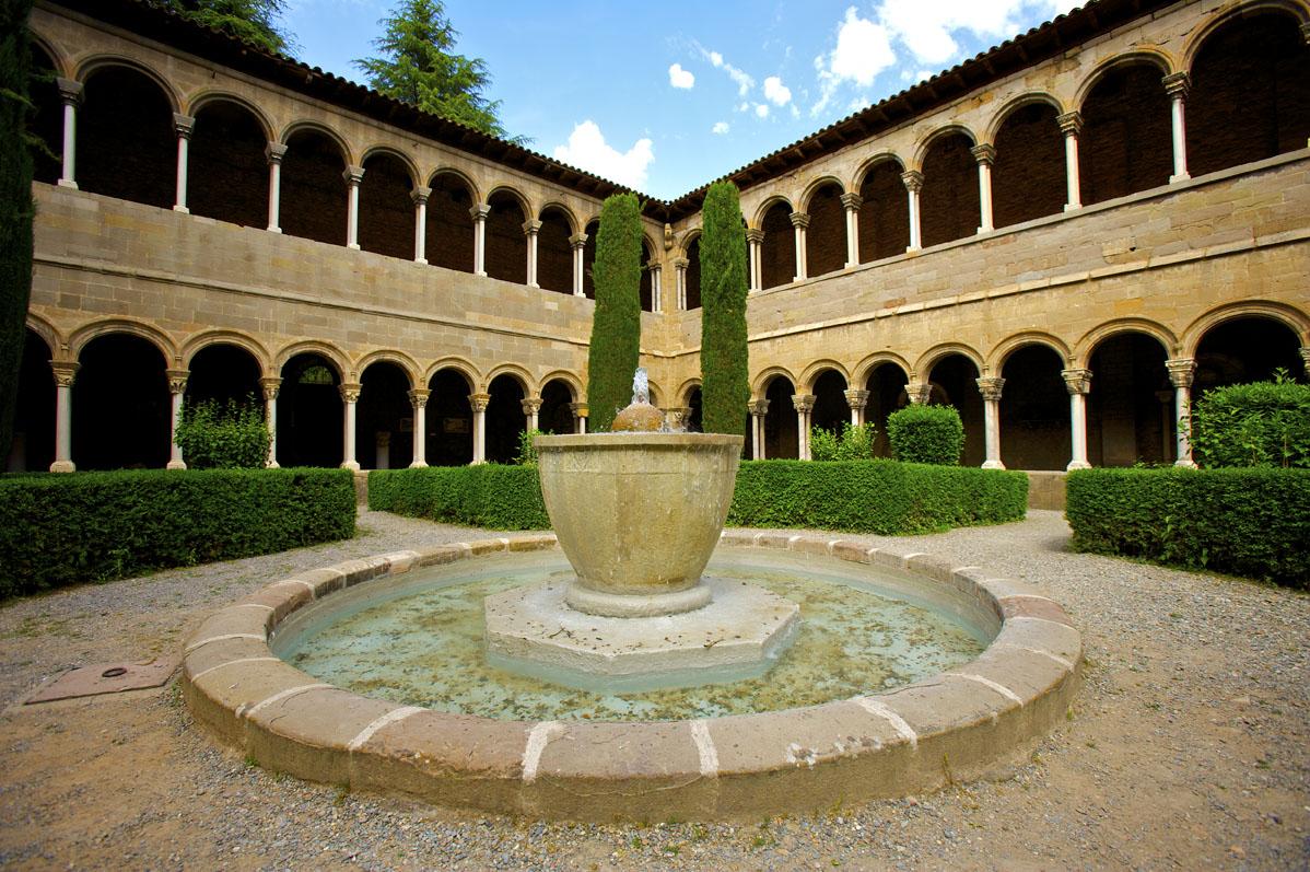Cloître du monastère de Ripoll