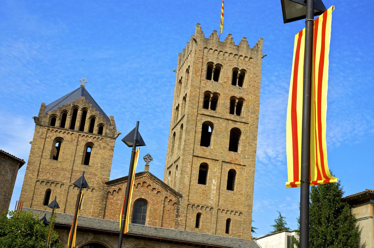 Fachada monasterio de Ripoll