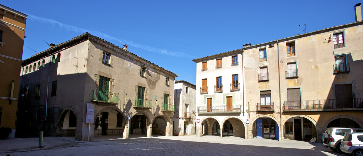 Major Plaza Sant Joan de les Abadesses