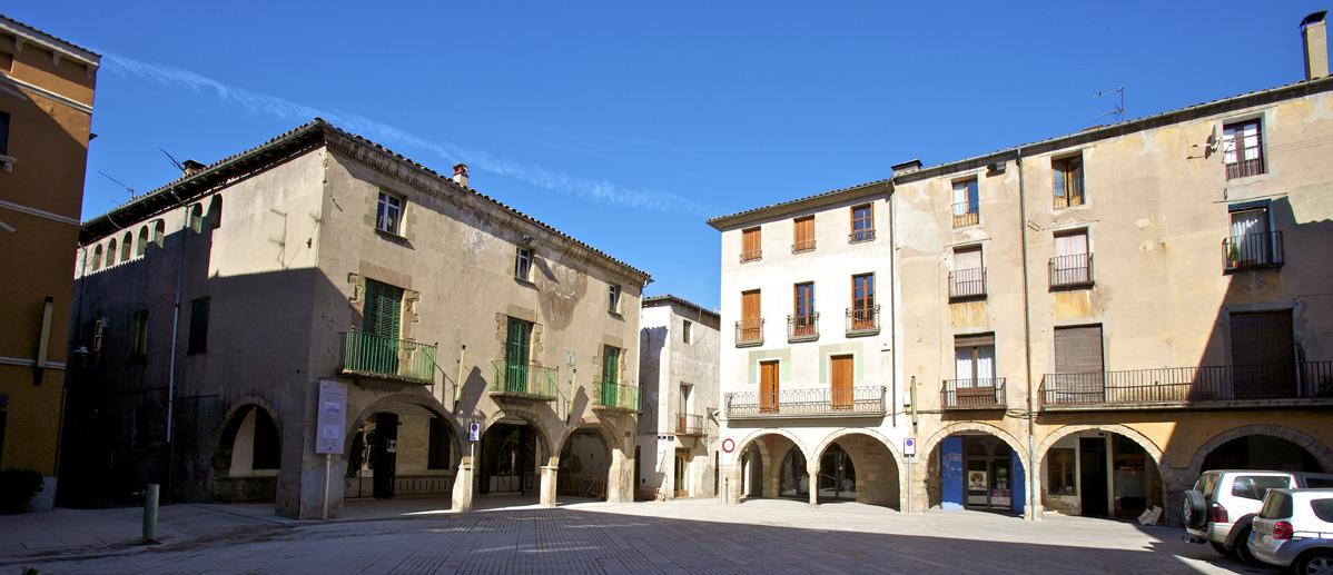 Major Plaza Sant Joan de les Abadesses