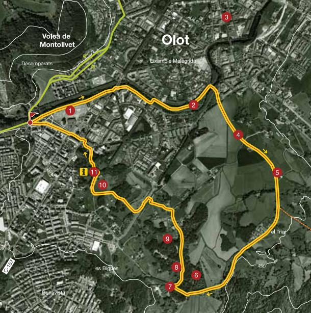 Olot Secrets Map