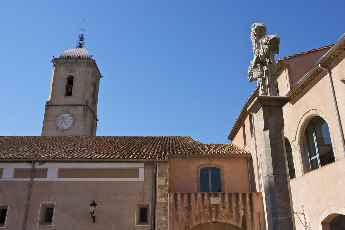 Plaça del Monestir, a Amer