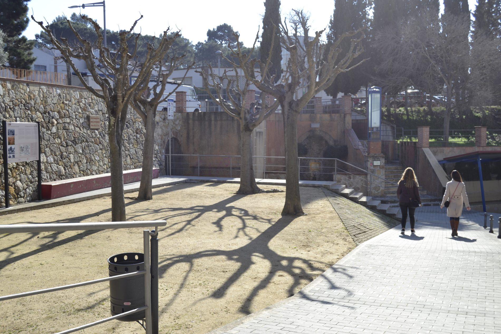 zona Font de la Mina Caldes M.