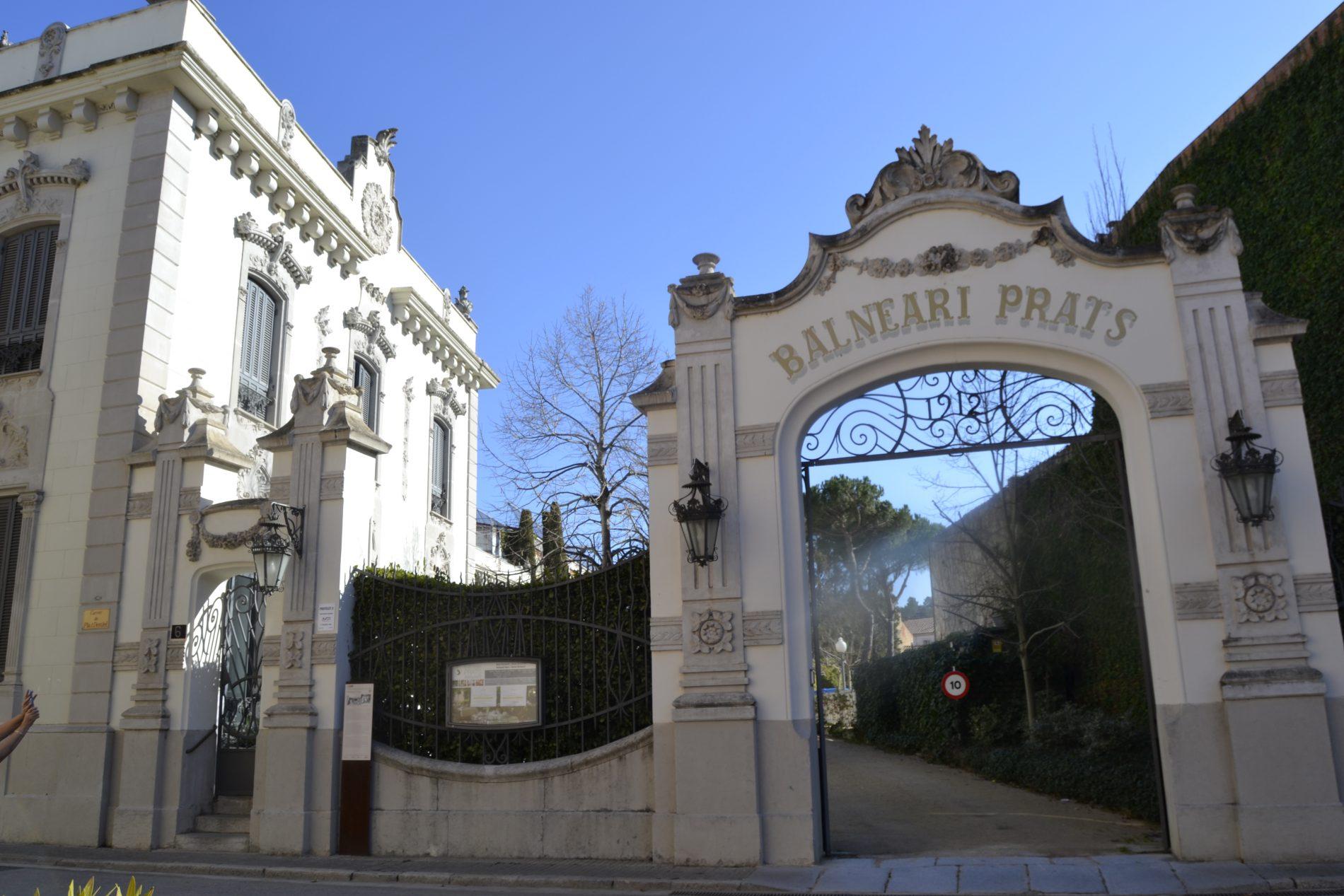 Balneari Prats a Caldes