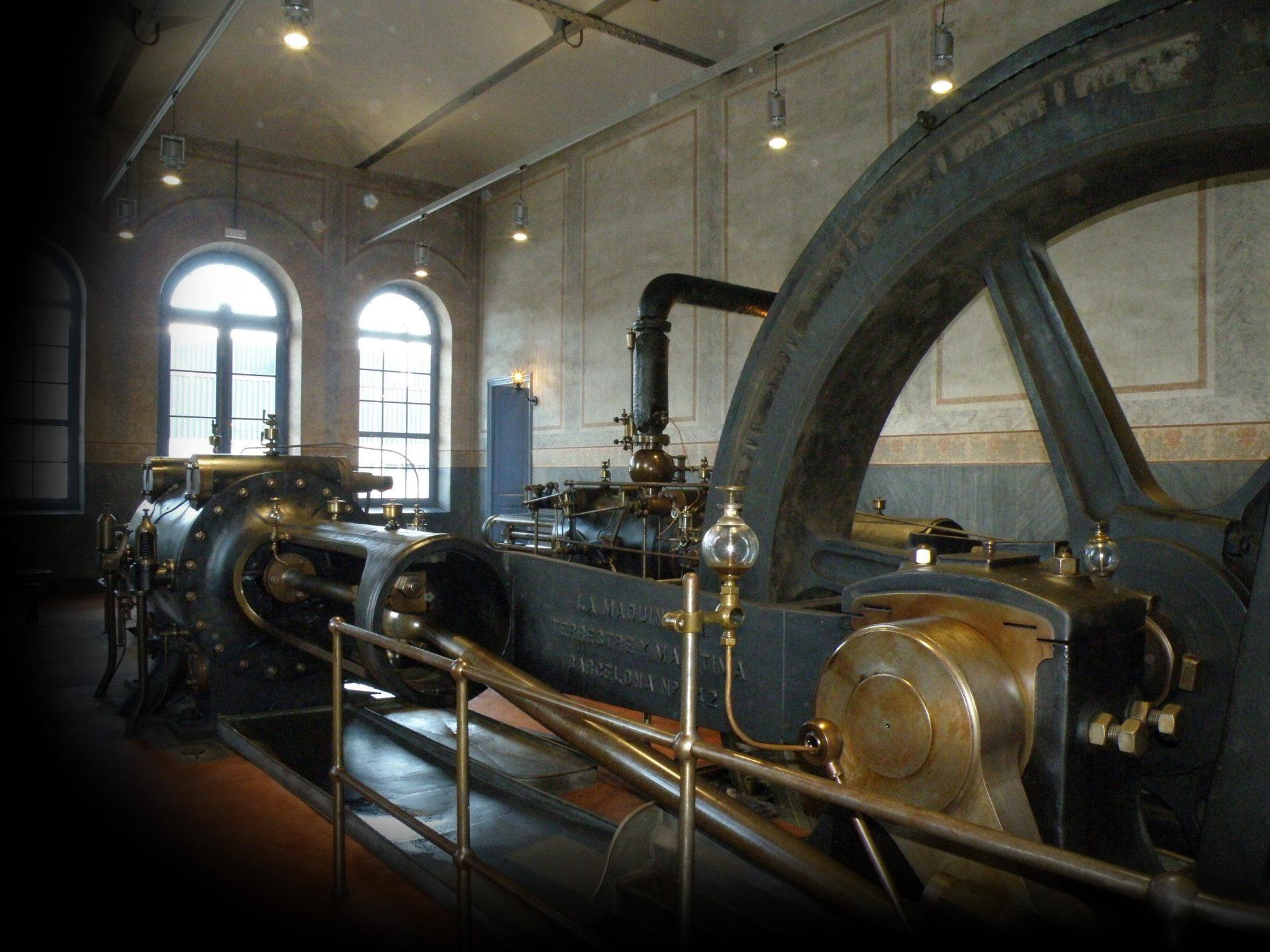 Interior de la fàbrica Burés