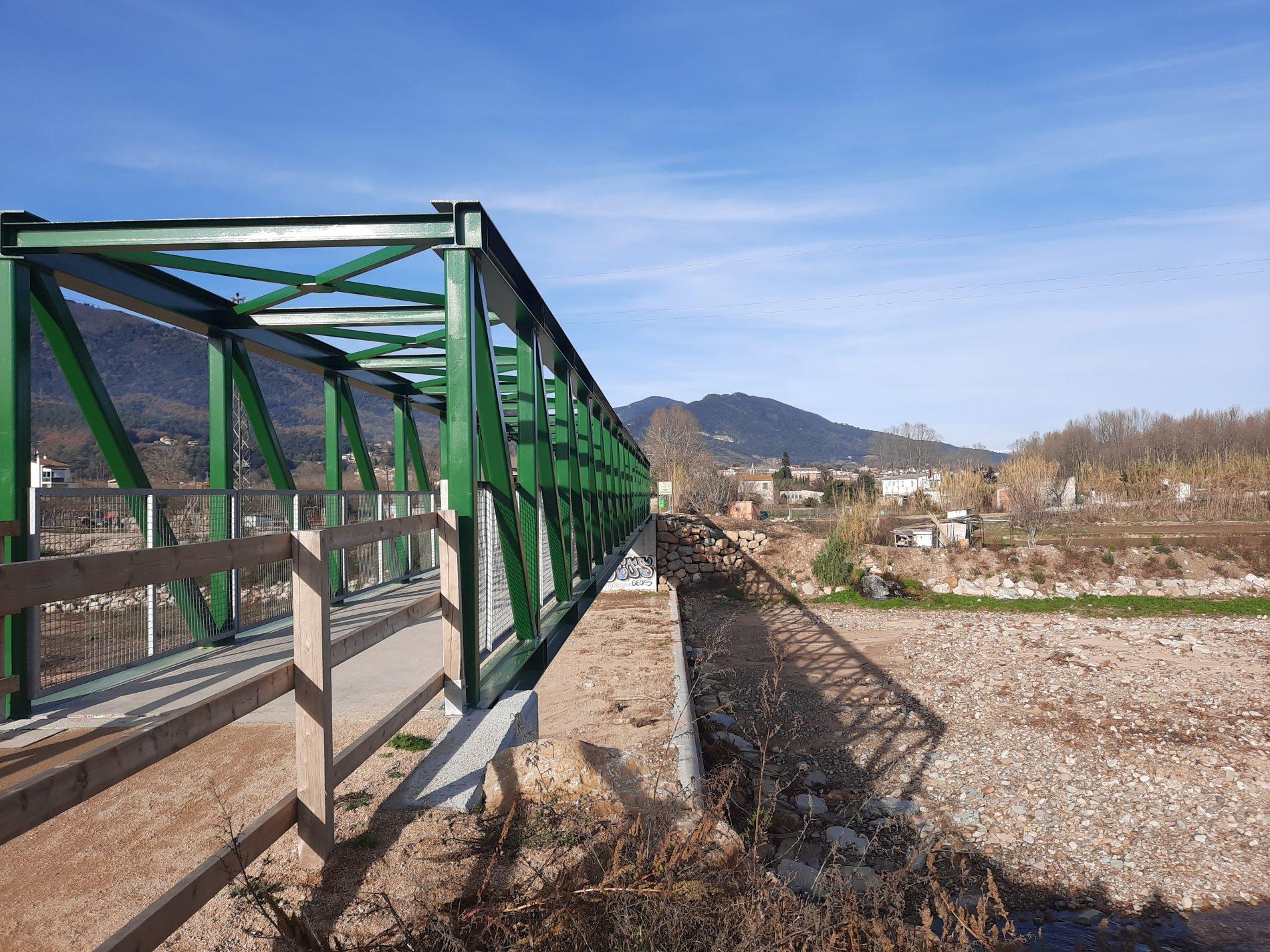 1. Pont de la Riera d'Osor - Anglès