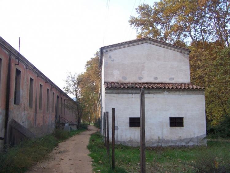 detall de la igleesia parroquial de Sant Miquel