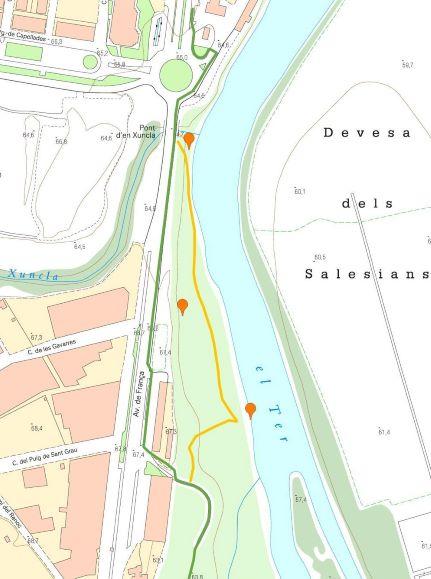 Sarrià de Ter map
