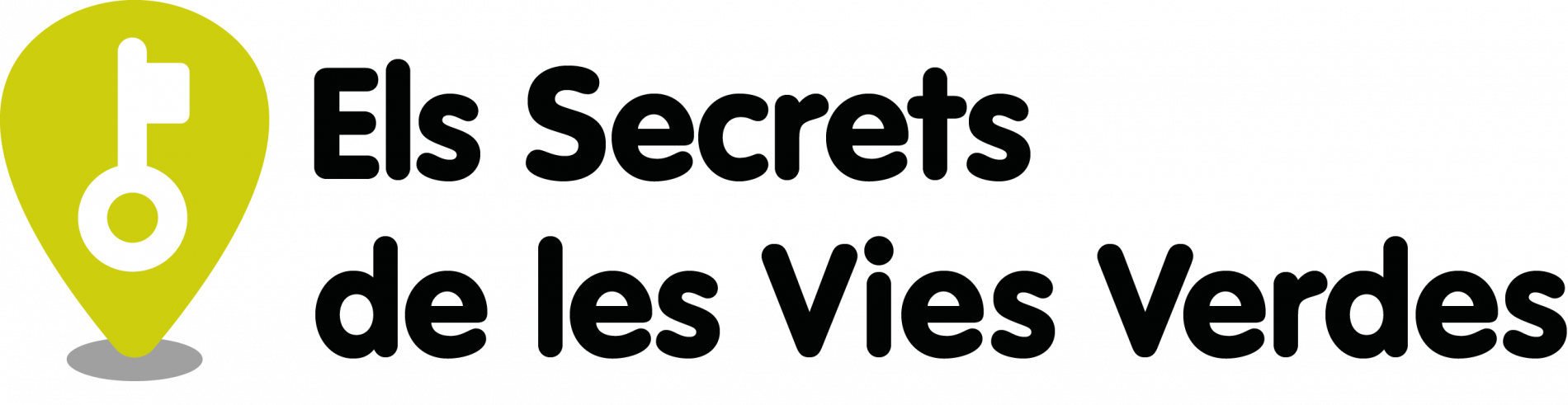 Logo of the project Secrets of Girona Greenways, in green