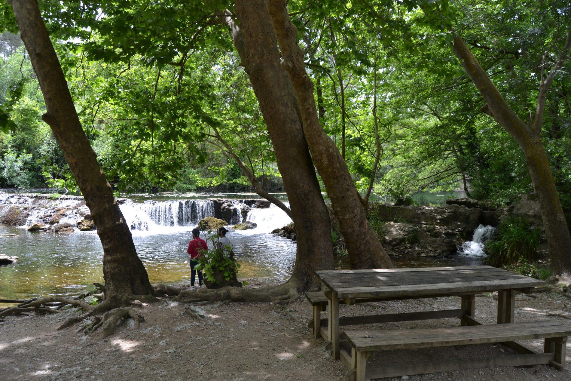 zona picnic La Muga