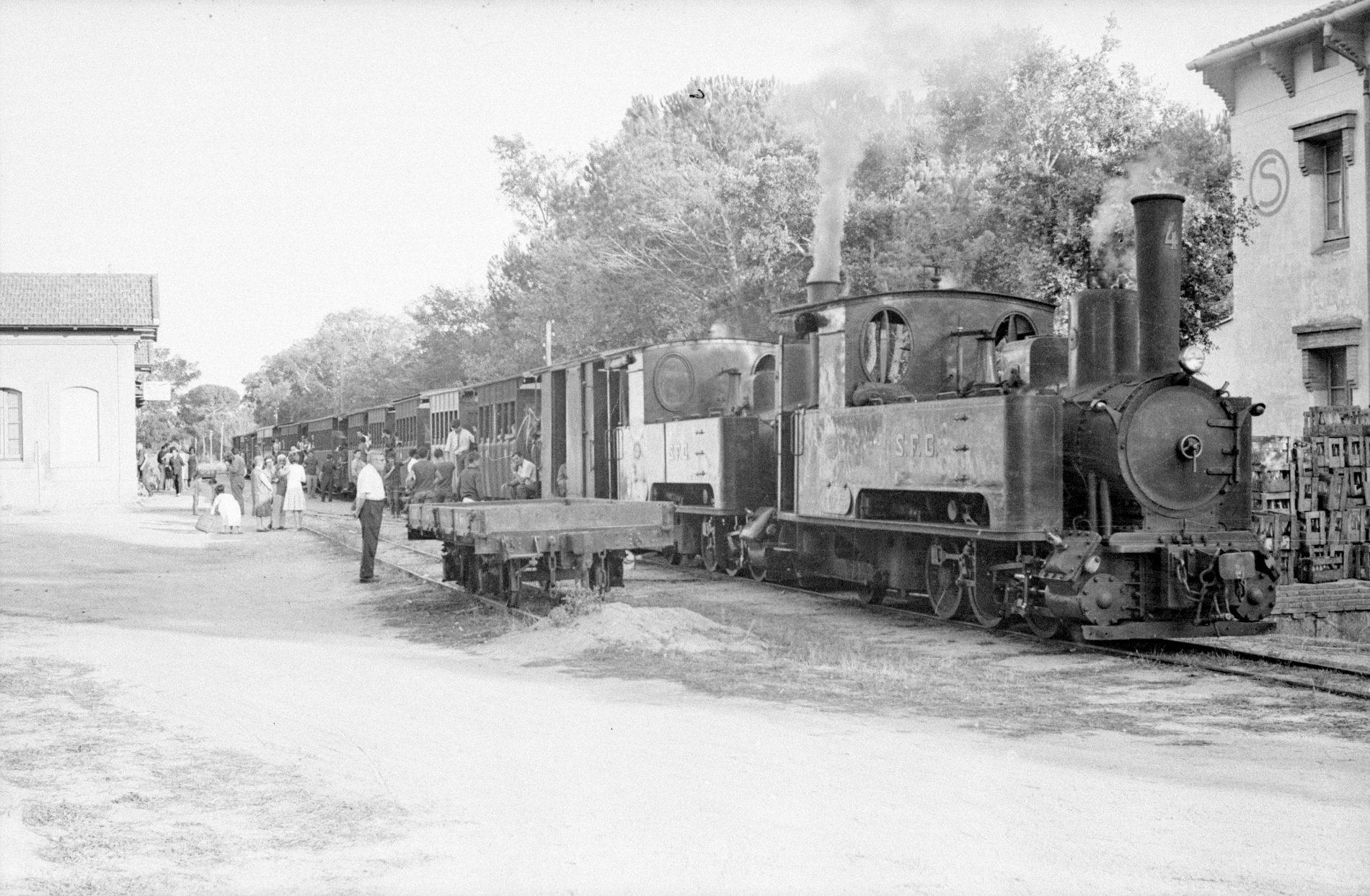 Tren especial per l'aplec a Santa Cristina d'Aro