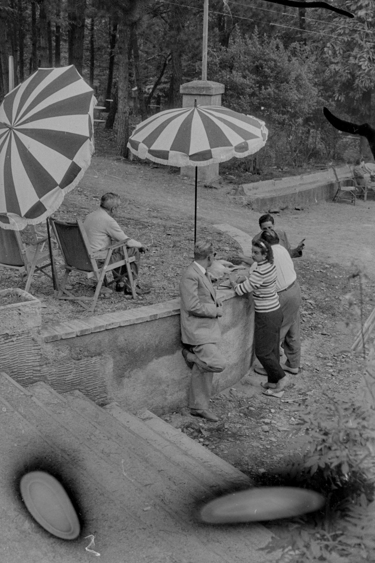 Diada germanor de l'escolania de Mercadal a la Font d'Amer (1956)